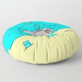 HD Not Quite Ready Floor Pillow