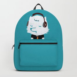 Metal Rock Dog Backpack