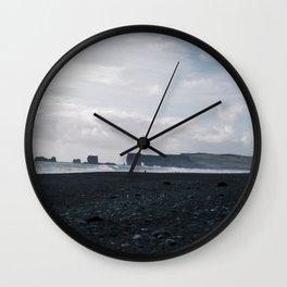 Reynisfjara Wall Clock