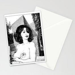 asc 345 - La muse secrète de Monsieur HTL (Mr. HTL's secret muse Stationery Cards