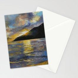 New Zealand Sunset Stationery Cards