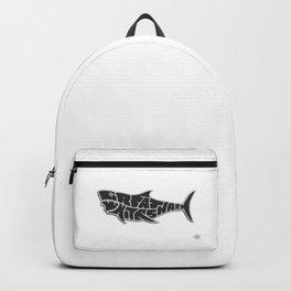 Great White Shark Calypso Reef Backpack