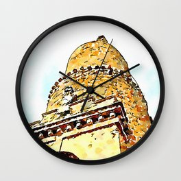 Barbarano Romano: tower Wall Clock