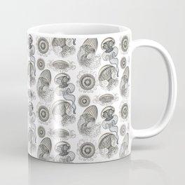 Ernst Haeckel Jellyfish Leptomedusae Silver  Coffee Mug
