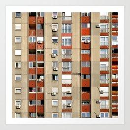 Belgrade | Takovska | color Art Print