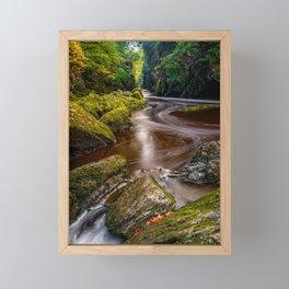 Fairy Glen Gorge Framed Mini Art Print