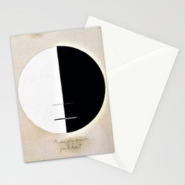 Hilma af Klint - Buddha's Standpoint in the Earthly Life, No. 3a, Series XI Stationery Cards