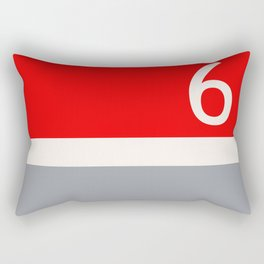 Toronto Red Rocket English Rectangular Pillow