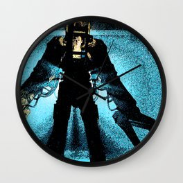 """""""Unclouded by conscience, remorse, or delusions of morality."""" Wall Clock"""