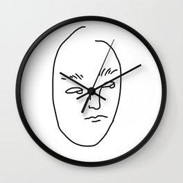 SORRY MOM I'M TOO BORED Wall Clock