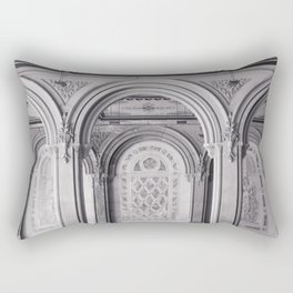 Once at Bethesda Terrace - Central Park NYC Rectangular Pillow