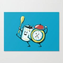 Wake up! Wake up! Canvas Print