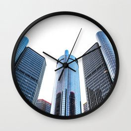 GM Ren Cen- Detroit, MI Wall Clock
