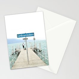 Embarcadère du Léman - Leman Jetty Stationery Cards