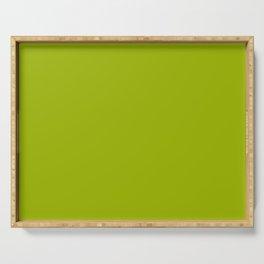 High Mileage ~ Leaf Green Serving Tray