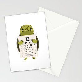 Eye Doctor Optician Turtle Stationery Cards