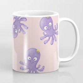 Octopus - Light Pink Coffee Mug