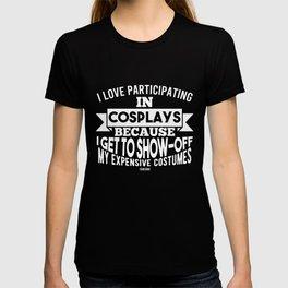 Cosplay RPG T-shirt
