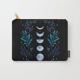 Moonlight Garden - Blue Carry-All Pouch