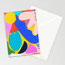 Unbridled Enthusiasm - Shapes and Layers no.38 Stationery Cards