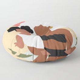 Juneteenth Floor Pillow