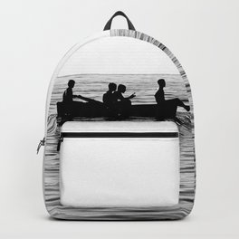 The dinghy and the boat Backpack