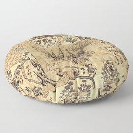 Marauder's Map Floor Pillow