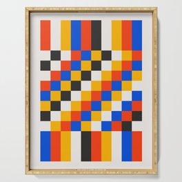 Pixels: Bauhaus Edition Serving Tray