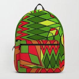 Poinsettia Flower Backpack