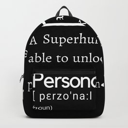 Personal Trainer Definition Backpack