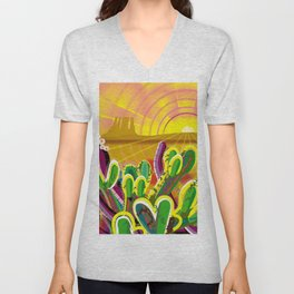 Monument Valley Unisex V-Neck