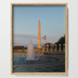 Washington Monument 2 Serving Tray