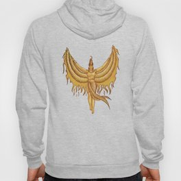 Isis, Goddess Egypt with wings of the legendary bird Phoenix Hoody
