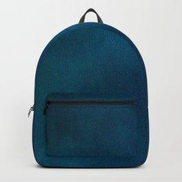 Blue-Gray Velvet Backpack
