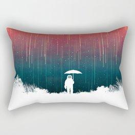 Meteoric rainfall Rectangular Pillow