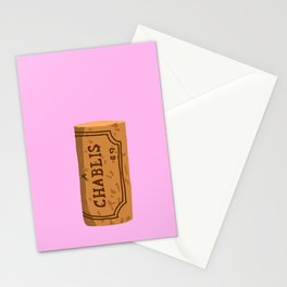 Wine Cork Stationery Cards