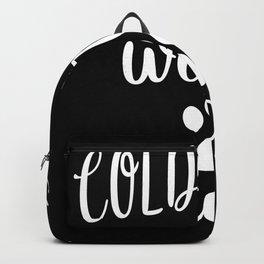 Cold Nose Warm Heart Dog Lover Backpack
