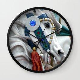 Carousel horse 01 Wall Clock