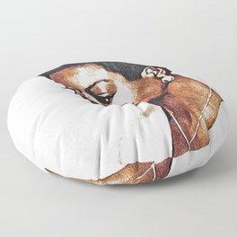 Nina Simone, Music Legend Floor Pillow