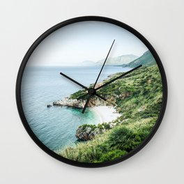 Beach - Landscape and Nature Photography Wall Clock