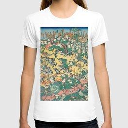 Fashionable Battle of Frogs by Kawanabe Kyosai, 1864 T-shirt