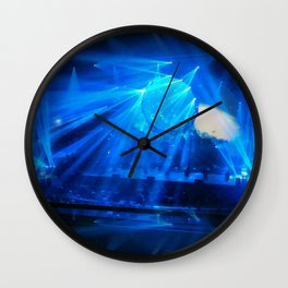 Midnight Blues Wall Clock