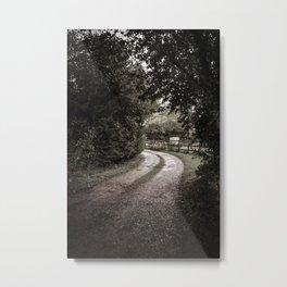 Rural Roads Metal Print
