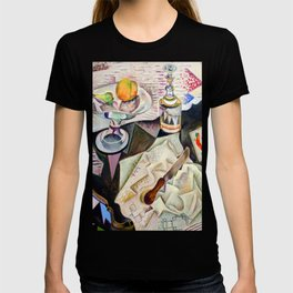 Joan Miro Spanish Playing Cards T-shirt