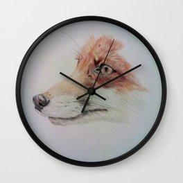 The fox Wall Clock