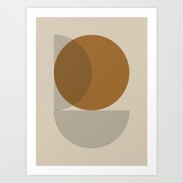 Geometric Composition VI Art Print