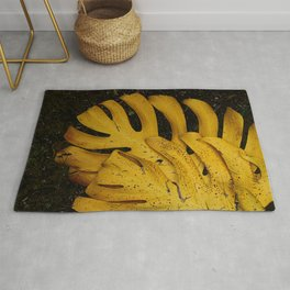 Not The Usual Fallen Leaves Rug
