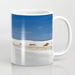 White Sand Reaches Up To The Horizon Coffee Mug