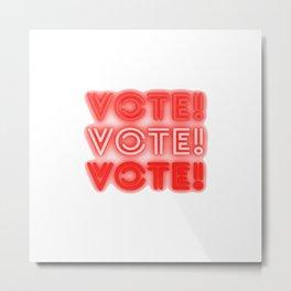 Vote - US election Metal Print
