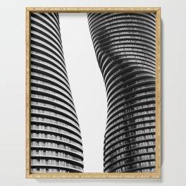 Curve Twins   Architecture   CityLandscape   City Photography   Minimalist   B&W Serving Tray